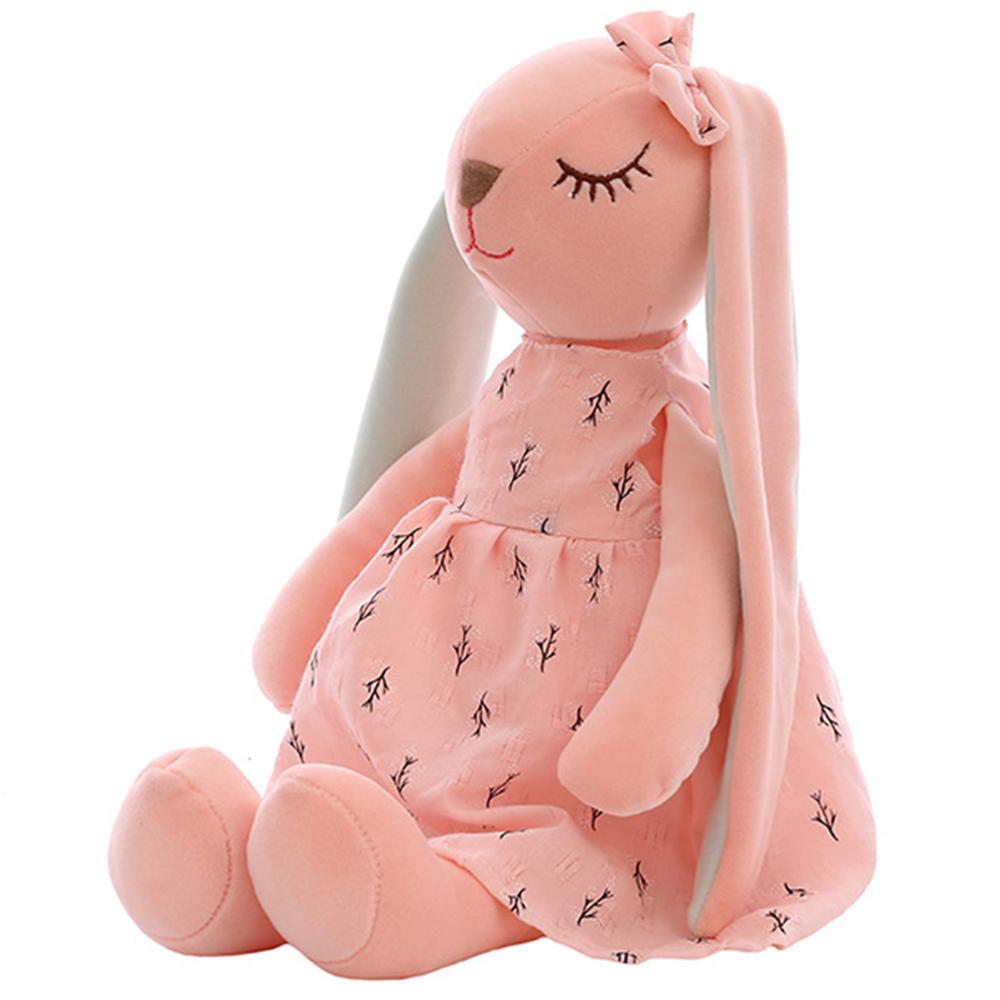 Cute Cartoon Baby Plush Toy Rabbit Sleeping Mate Stuffed Animal Toys For Kids Long Ears Rabbit Plush