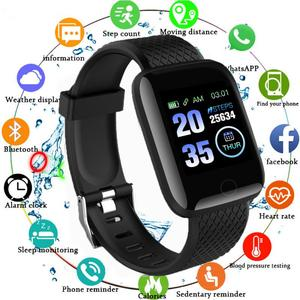 Fitness Bracelet Smart Watches SmartWatch Wristband For Android IOS Kids Tracker Wache Whatch Smart Bracelet Fitness Watch Clock
