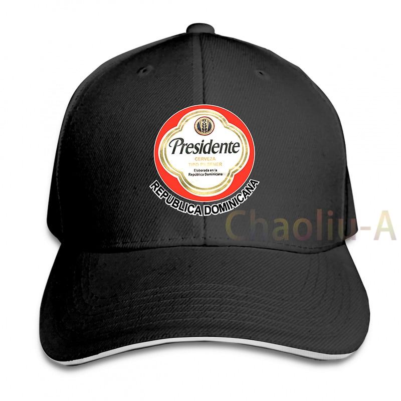 Vintage big Logo Dominican Republic Presidente Size M Baseball cap men women Trucker Hats fashion adjustable cap