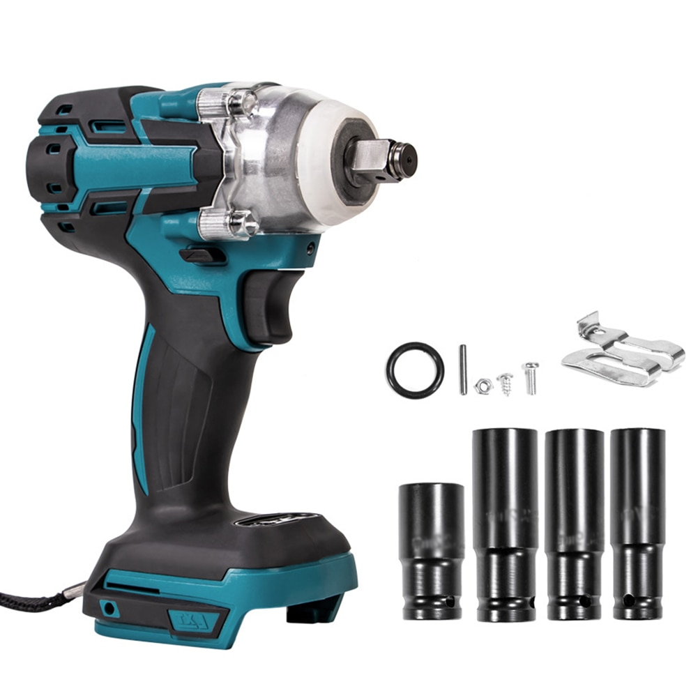 18V Torque Electric Impact Wrench Brushless Cordless Power Tool Impact Wrench Installation Tool Set Электро-инструменты