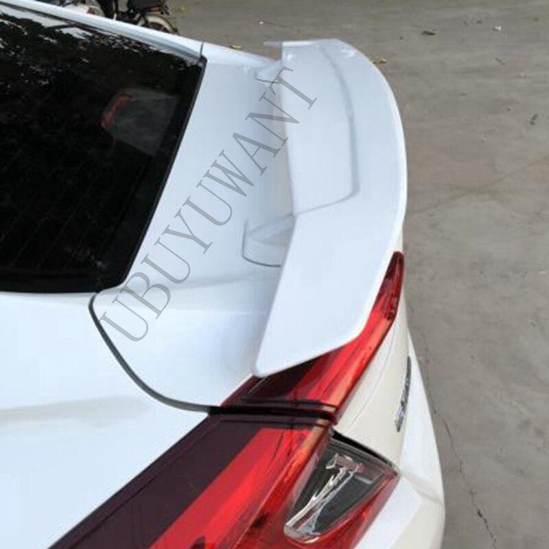 Alerón trasero ABS Universal, alerón trasero para tapa de maletero, accesorios para coche HONDA para CIVIC 16-19 para Benz Sedán