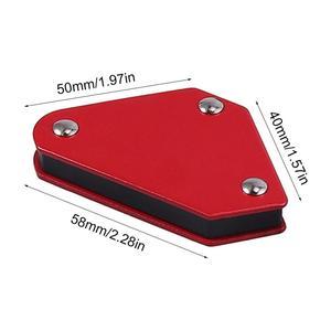 4 шт./компл. 9LB угол пайки локатор сварщик сварочный держатель инструмент для сварки магнитный держатель Магнитный Магнит Угловые стрелки
