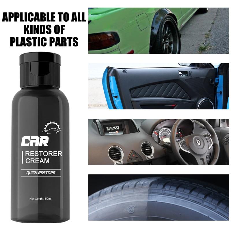 30/50ml Plastic Parts Retreading Agent Automotive Interior Plastic Part Retreading Coating Paste Mai