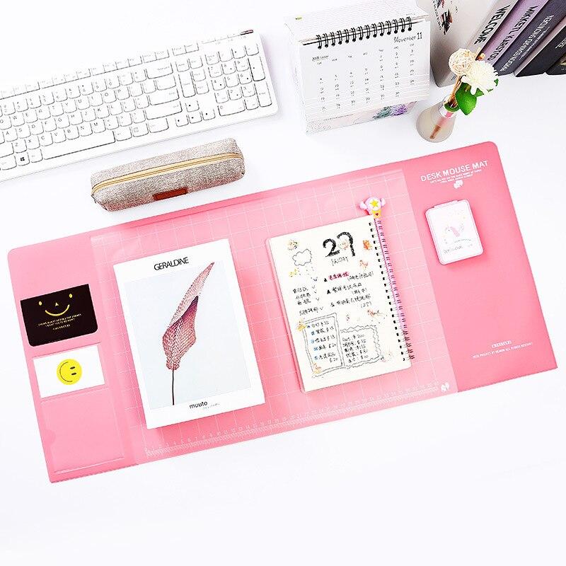 Симпатичный коврик для школы, ученика, офиса, многофункциональный коврик для письменного стола, большой коврик для компьютера, водонепрони...