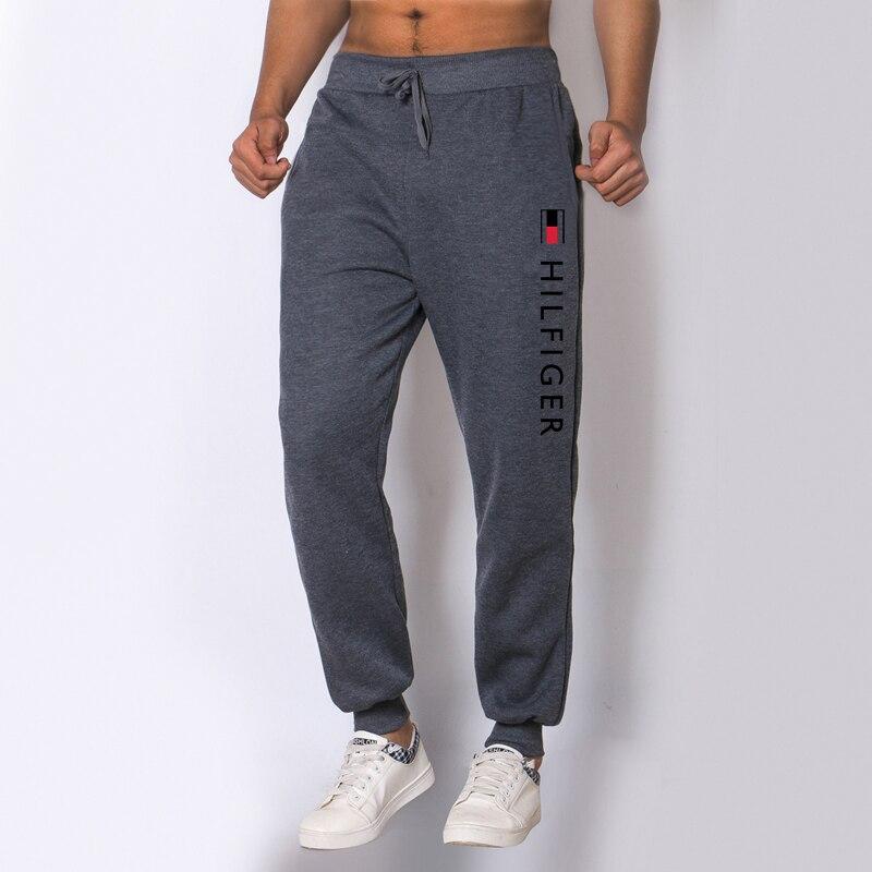 Мужские хлопковые тренировочные брюки, спортивные флисовые повседневные брюки, мужские брюки, удобные теплые тренировочные брюки большого...