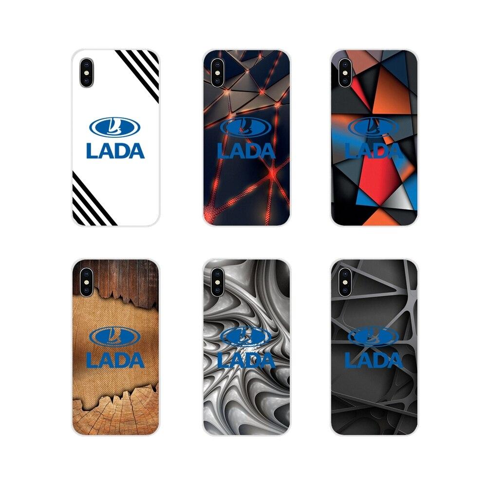 Coche lada logotipo mármol para Huawei Nova 2 3 2i 3i Y6 Y7 Y9 primer Pro GR3 GR5 2017, 2018 2019 Y5II Y6II accesorios funda de teléfono
