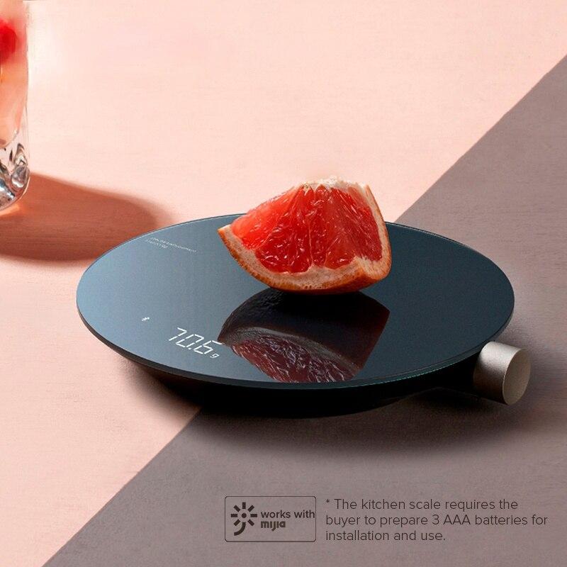 المطبخ الذكية مقياس بلوتوث APP مقياس الالكترونية مقياس ميكانيكي صغير الغذاء وزنها أداة قياس LED العرض الرقمي