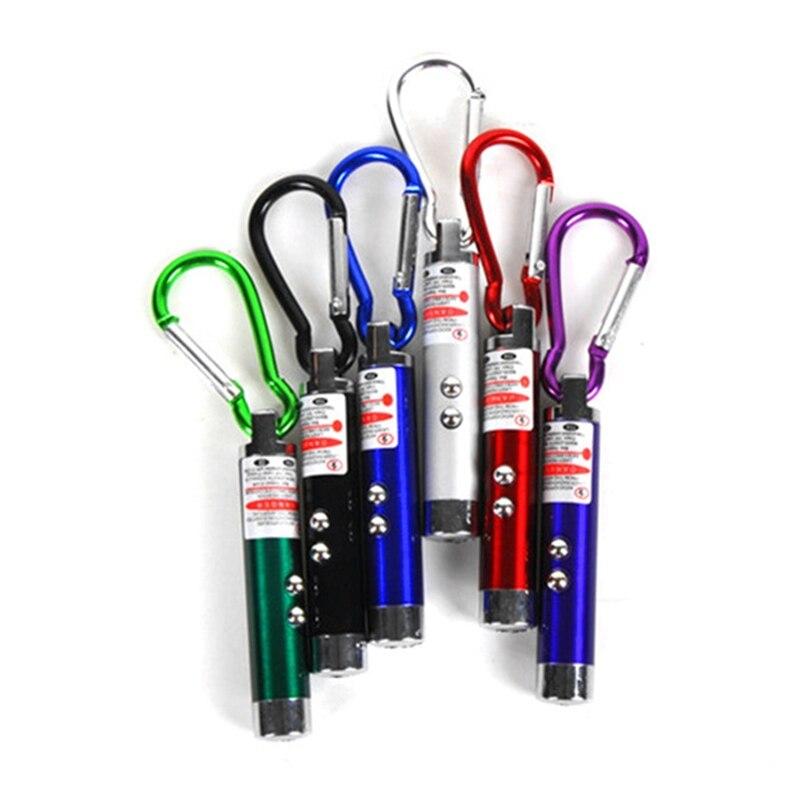 2 в 1 красная лазерная ручка указка ручка с белым светодиодный светильник шоу палка для игры Детские игрушки лазеры
