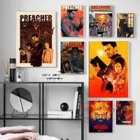 Preacher     toile daffiches et imprimes de film de propagation  tableau dart mural  decoration de maison abstraite  Cuadros