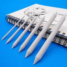 3/6 pz/set miscela sbavatura ceppo bastone schizzo arte disegno bianco carbone schizzo strumento carta di riso penna artista pittura forniture