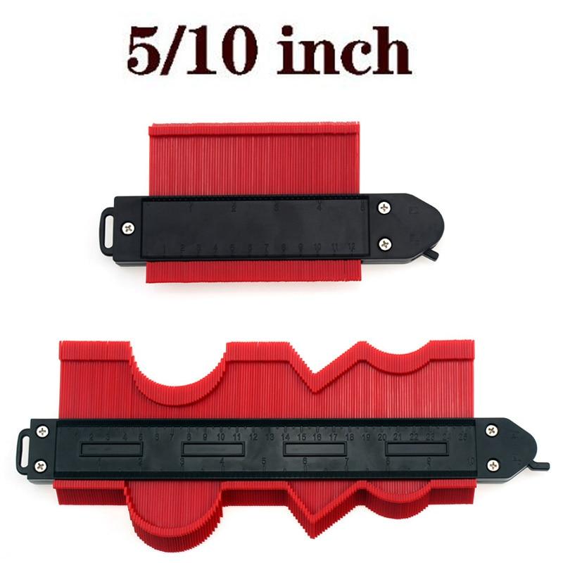 pressure gauge Contour Profile Gauge Tiling Laminate Tiles Edge Shaping Wood Measure Ruler Contour Gauge Duplicator 5/10 inch