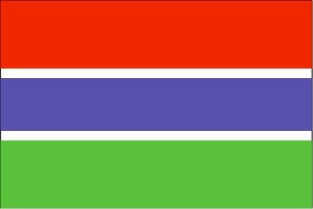 Gambia 5 Dalasis 2013 P-25 UNC nota Original