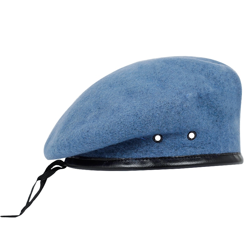 Top Quality Wool Special Forces Military Berets Caps Mens Army Woolen Beanies Outdoor Breathable Sol