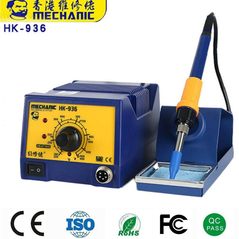 12 Sets MECHANIC Lead-Free Soldering Iron Soldering Station Adjustable Temperature Welding Desoldering Tools SMT Rework Station