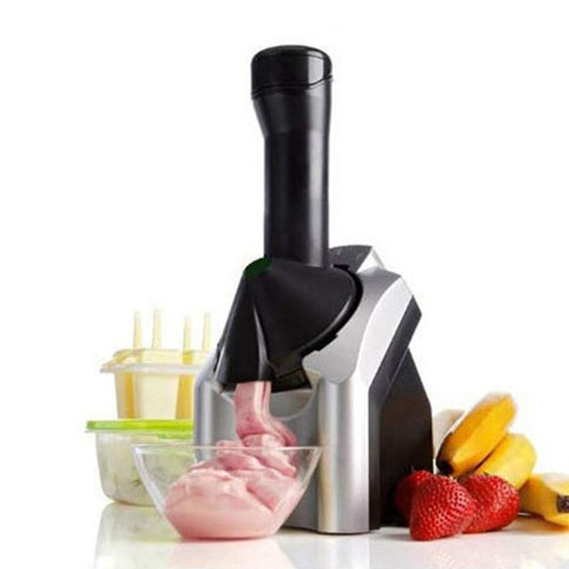 Automatic Ice Cream Maker Electric Frozen Fruit Dessert Icecream Pressing Machine Frozen Yogurt Milkshake Squeezer EU Plug