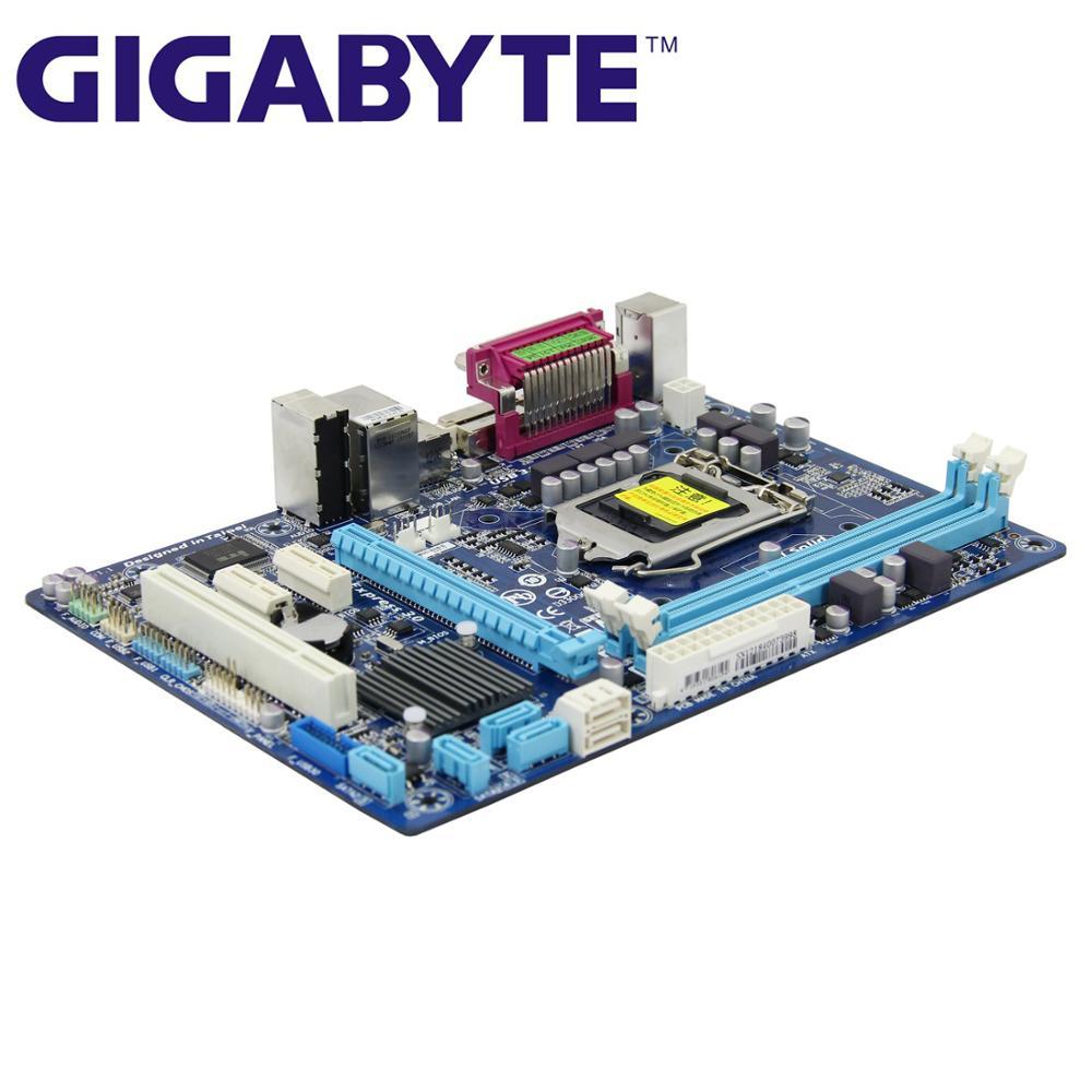 LGA 1155 для Intel DDR3 Gigabyte GA-B75M-D3V 100% оригинальная материнская плата B75 B75M D3V настольная системная плата B75M-D3V используется
