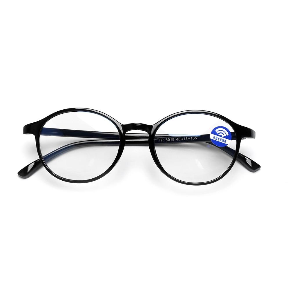 Женская классическая круглая оправа, синий светильник, блокирующие очки, защита от излучения, компьютерные очки, гибкий ультра-светильник TR90, очки