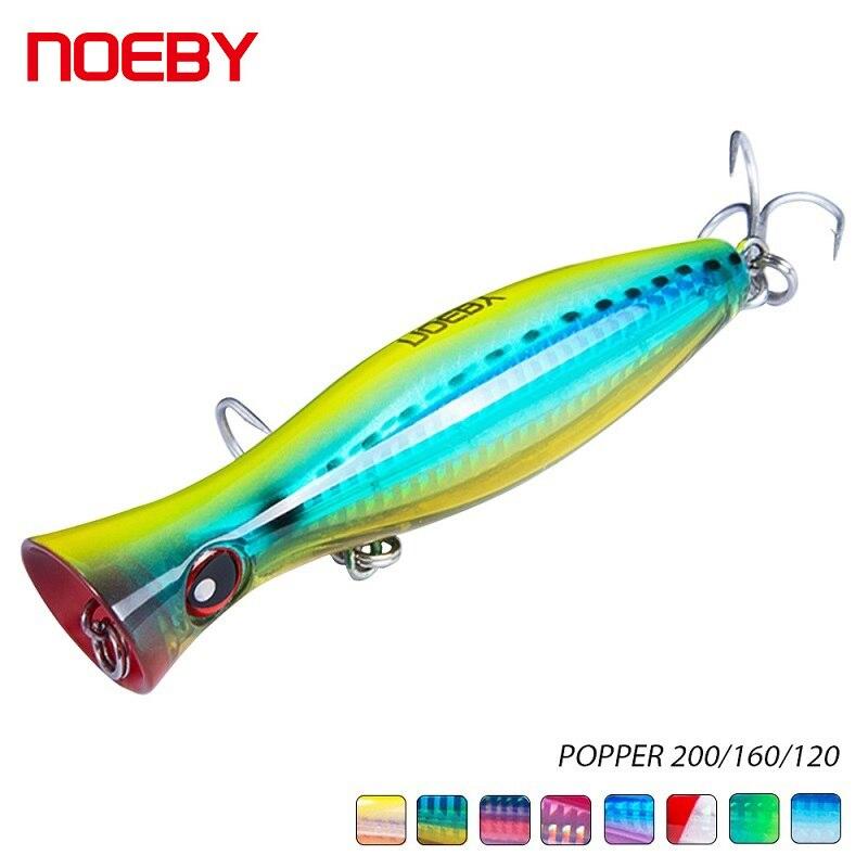Grandes señuelos Popper 200mm 150g agua superior pesca mar cebo para pescar atún GT Tackle NBL9602