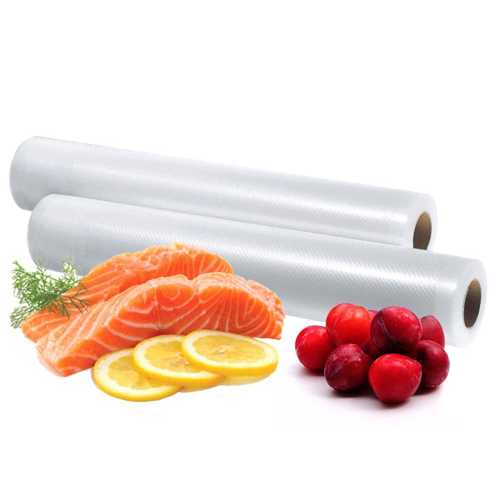 Бытовые кухонные вакуумные пакеты для пищевых продуктов, пакеты для вакуумного упаковщика, вакуумные пакеты в рулонах для упаковщика