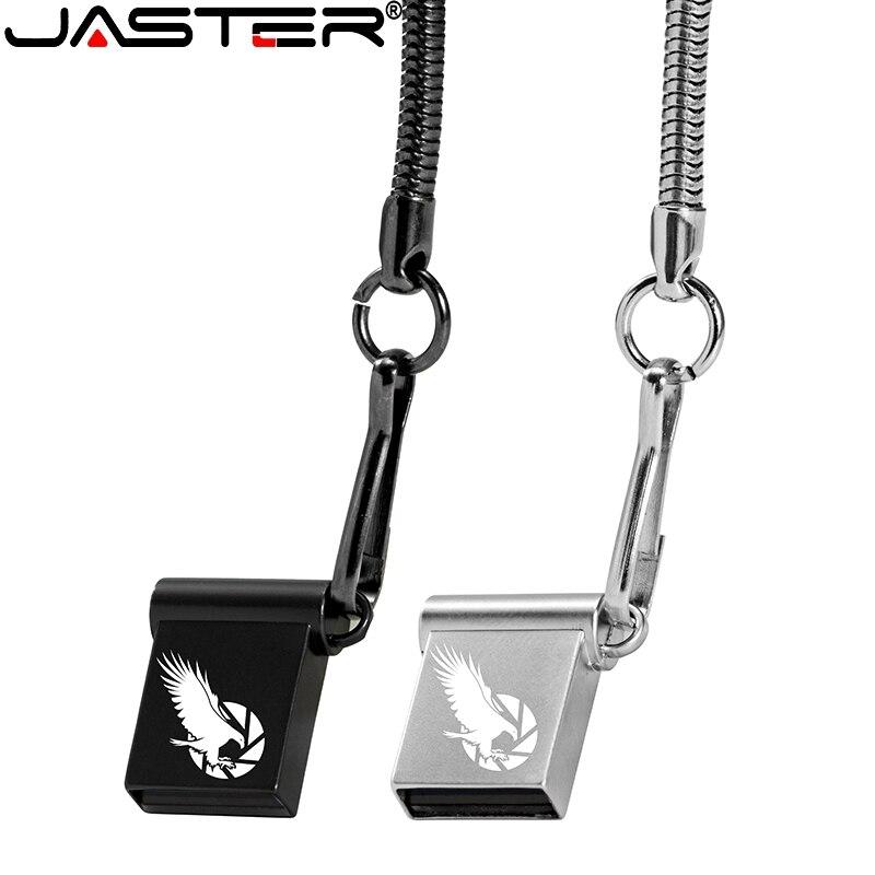 JASTER-unidad flash USB 2,0, pendrive con capacidad Real de 32GB, 64GB, 16GB...