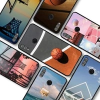 basketball basket phone case for huawei honor10lite 10i 20 8x 10 funda for honor9lite 9xpro back coque