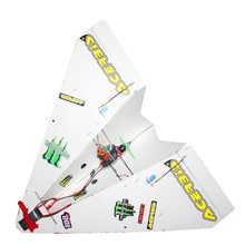 550mm Wingspan DIY Magic Board Paper Remote Control RC Airplane RC Plane PNP for Beginner
