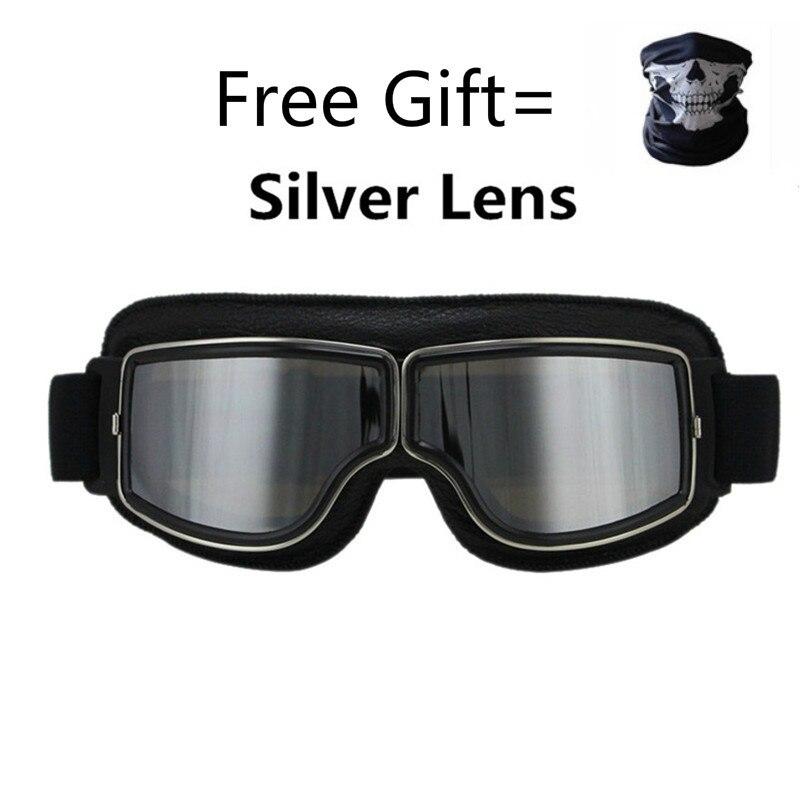 Универсальные винтажные мотоциклетные очки, мотоциклетные, скутеры, велосипедные очки, шлем, складные очки