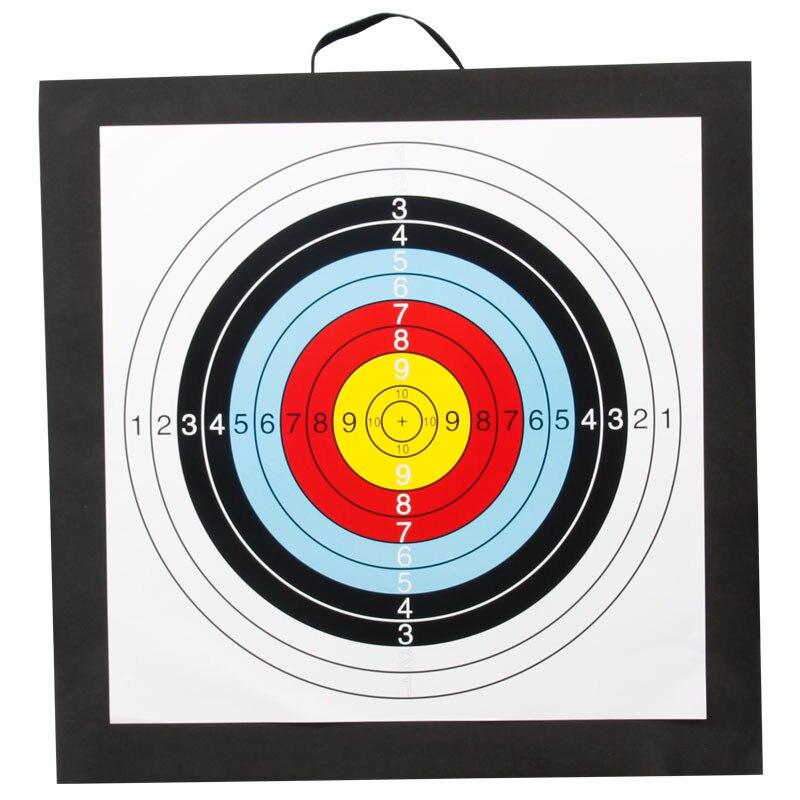50x50x5cm Bogenschießen Ziel Hohe Dichte EVA Schaum Schießen Praxis Bord Outdoor Sport Jagd Zubehör Recurve armbrust