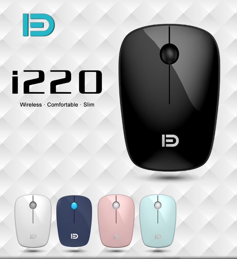2.4G Wireless Mouse 1600DPI Adjustable USB Receiver Optical Computer Mouse Ergonomic Mice For PC Laptop Desktop