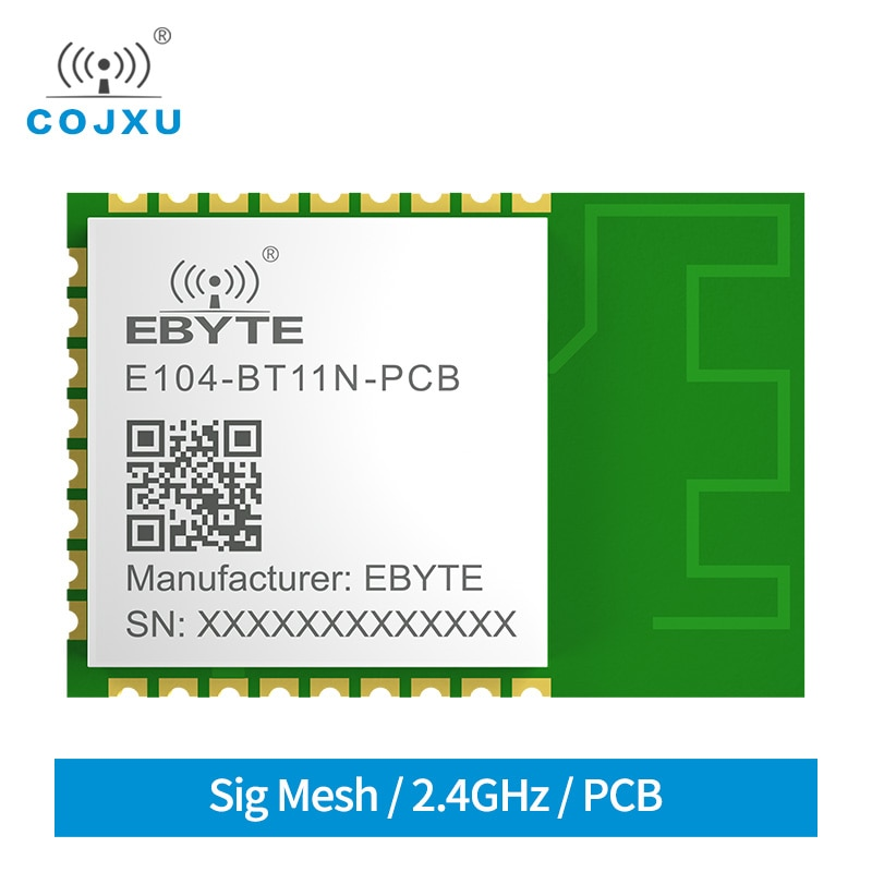 E104-BT11N-PCB EFR32 2.4GHz Blutooth Module BLE Mesh Networking 20dBm PCB Antenna Ad Hoc Wireless Transceiver Reciever ivan stojmenovic mobile ad hoc networking