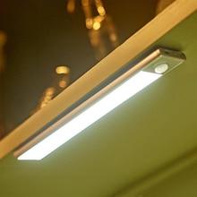 led kitchen lamp motion sensor control usb port li battery power cabinet lights 3 meter sensortive d
