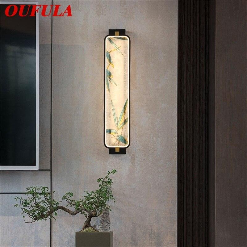 Современные Настенные светильники OUFULA, оригинальные комнатные декоративные светильники для дома, гостиной, коридора, спальни