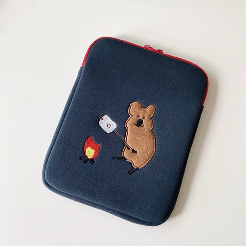Koala 12.9 inch Laptop Liner Bag for Mac Cartoon Pouch for ipad 9.7 10.5 inch Ins Style Sleeve for i