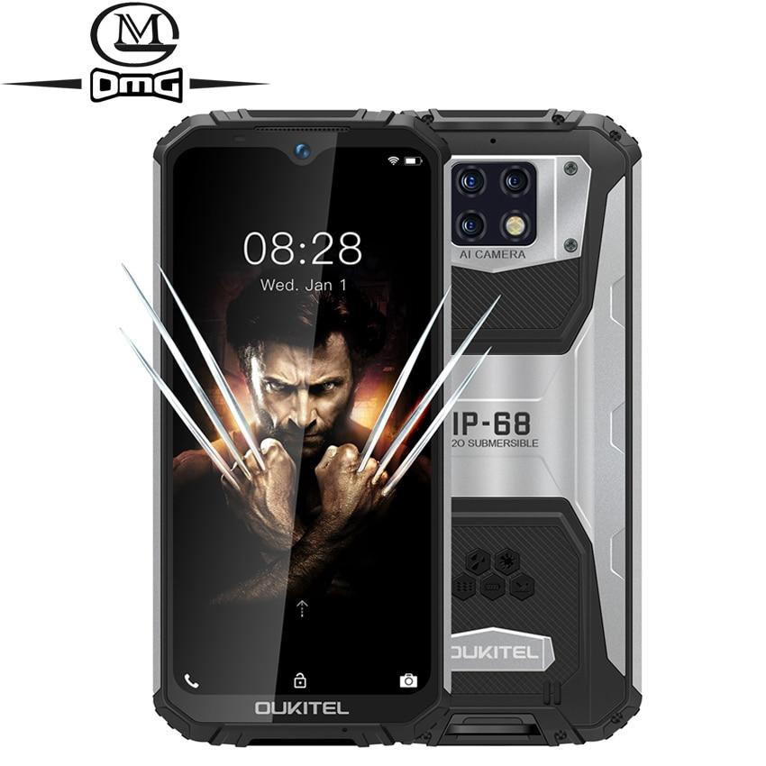 OUKITEL-هاتف ذكي ، WP6 ، 6 جيجابايت ، 10000 جيجابايت ، 128 بوصة ، مقاوم للصدمات ، هاتف ذكي متين ، معالج MT6771T ، ثماني النواة ، 4G ، كاميرا ثلاثية بدقة 48 ميجا...
