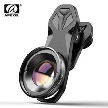 APEXEL HD 30-80mm super macro lentille optique téléphone caméra lentes avec cpl étoiles filtres pour iPhone Samsung tous les smartphones