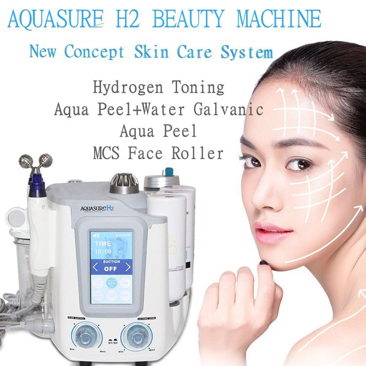 AQUASURE H2 oxygen machine hydrafacial device hydrogen BIO skin lifting and Deep cleansing (Can choose 6 in 1, 3 in 1 or 2 in 1)