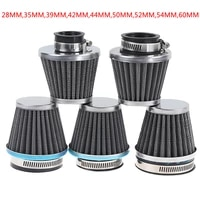 1 pc universal motorcycle air filter element auto mushroom head pod cleaner double foam filter 28353942444850525460mm