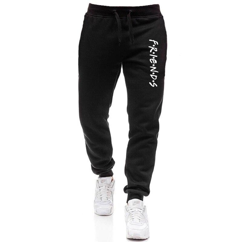 Брендовые мужские спортивные брюки, мужские Модные повседневные спортивные брюки с буквенным принтом, мужские спортивные штаны для тренаж...