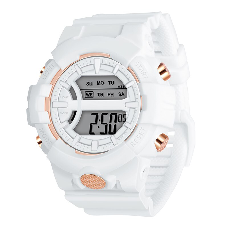 Digital Watch Boys Waterproof Stopwatch Alarm Children Luminous Watches Fashion Sport for Student Clock Teen Kids Wristwatch