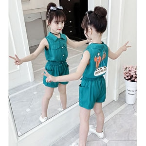 Girls Clothing Sets 2020 summer teen Girls Clothes Outfit Kids Tracksuit For Girl Suit Children Clothing 8 10 12 Year