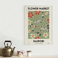 flower market %e2%80%93 nairobi coordinate fresh flower poster floral prints printable wall decor digital download