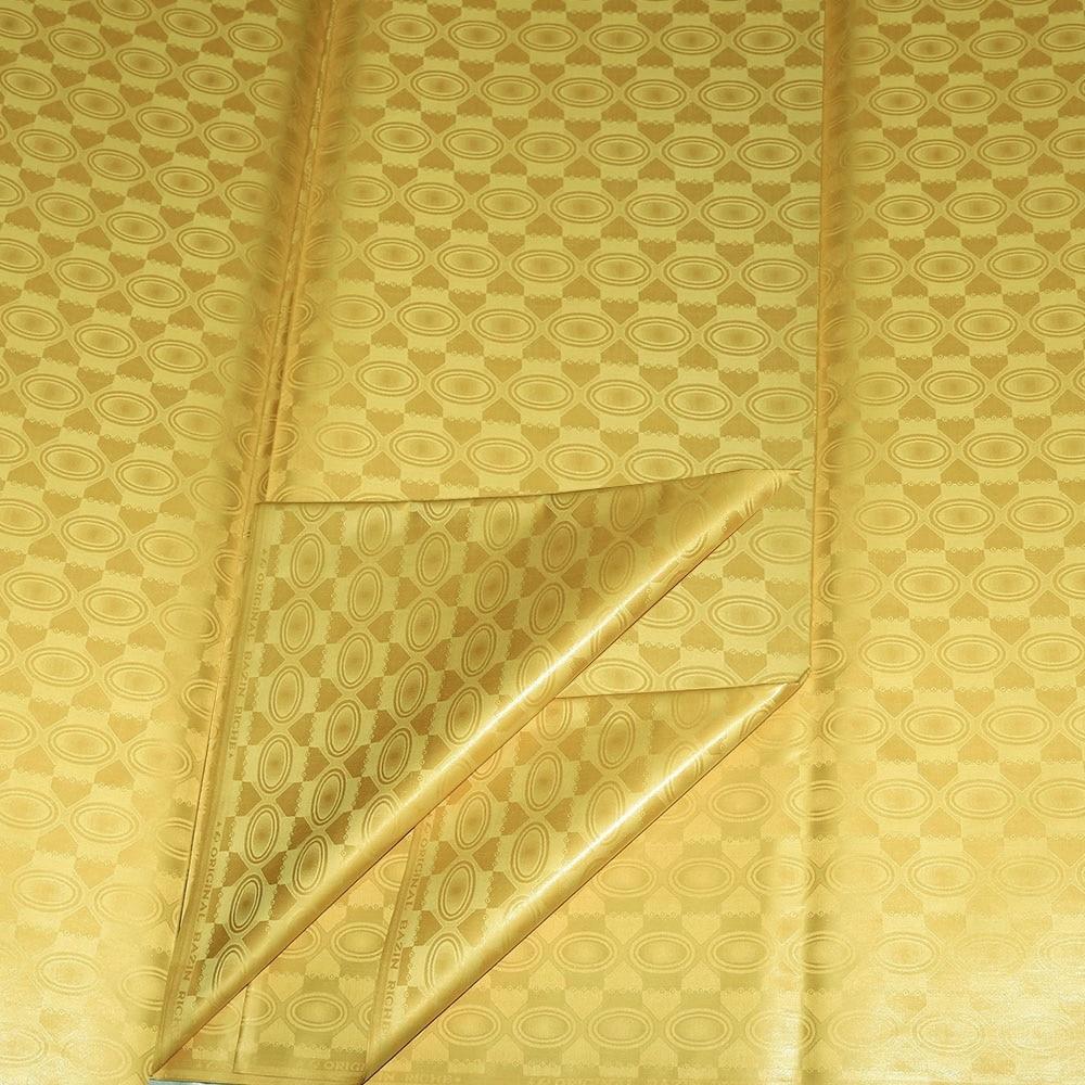 Bazin Riche-vêtements similaires   Nouveau tissu Jacquard à paillettes, tissu Atiku, bassin Super Brocade matériel de couture, 10Yards 2020