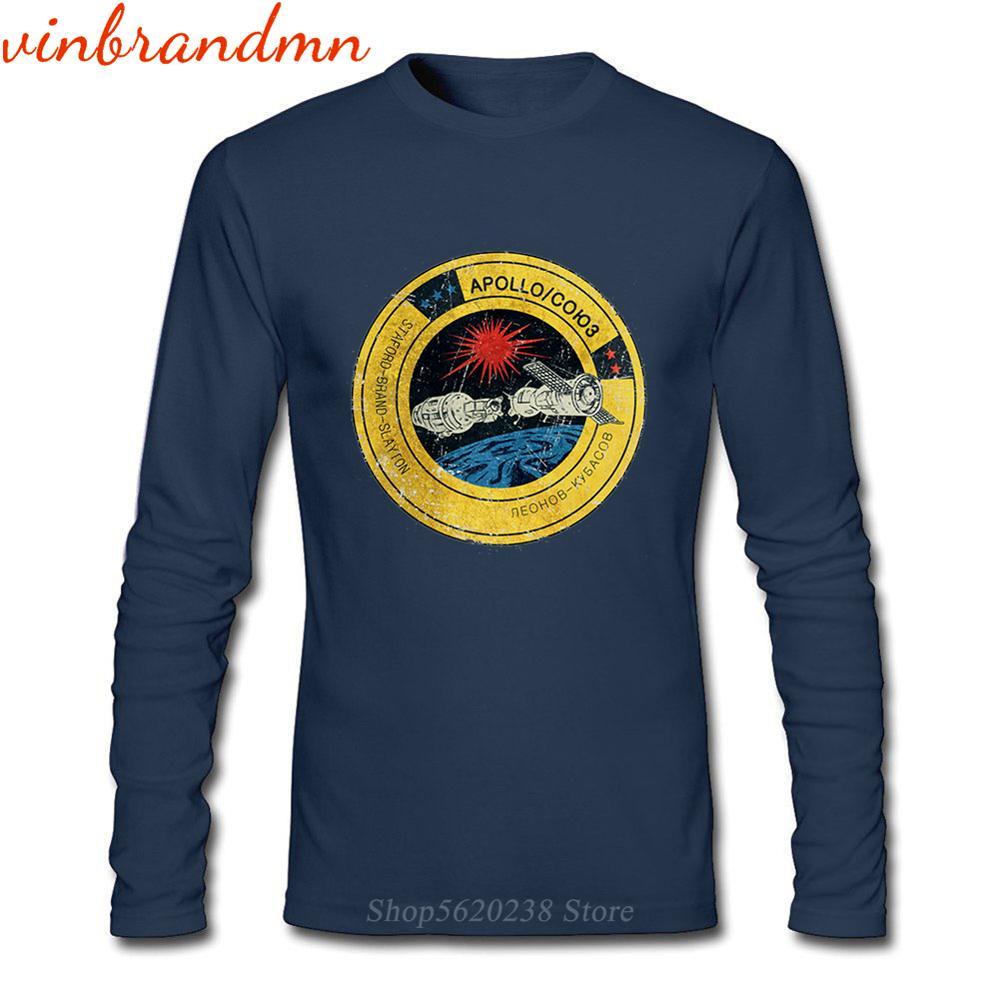 Las mejores camisetas masculinas de manga larga CCCP exploración del espacio tema...