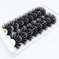 7810 pairs 3d mink lashes 25mm dramatic volume eyelashes mink natural long silk eyelashes beauty makeup eyelash extension tool
