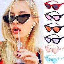 2020 New Retro Cat Eye Sunglasses For Women Vintage Brand Designer Cateye Outdoor Sexy Sun Glasses f