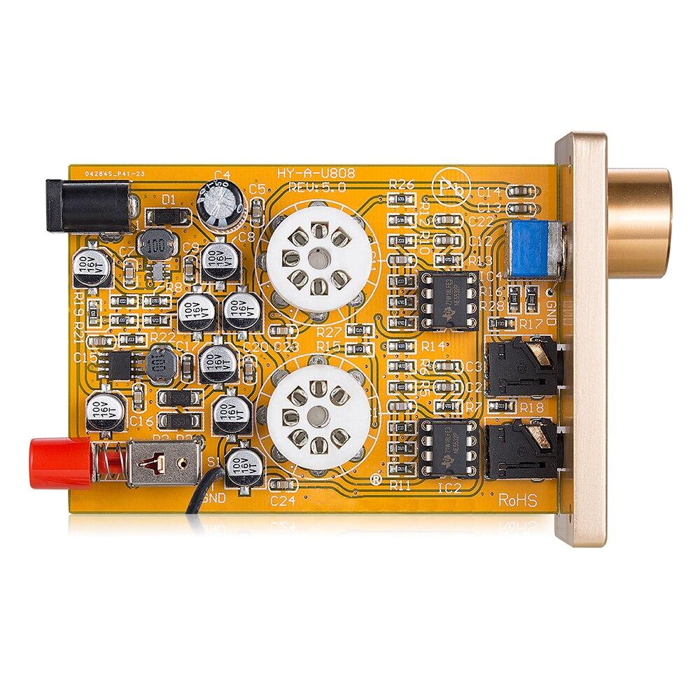 6J3 *2 HIFI High Current Mini Class A Tube Thrust Headphone Amplifier amp DIY Small Tube Amplifier Power Amplifier Finshed Board enlarge