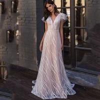 white party dresses women evening 2021 sexy solid v neck elegant dresses for women donsignet
