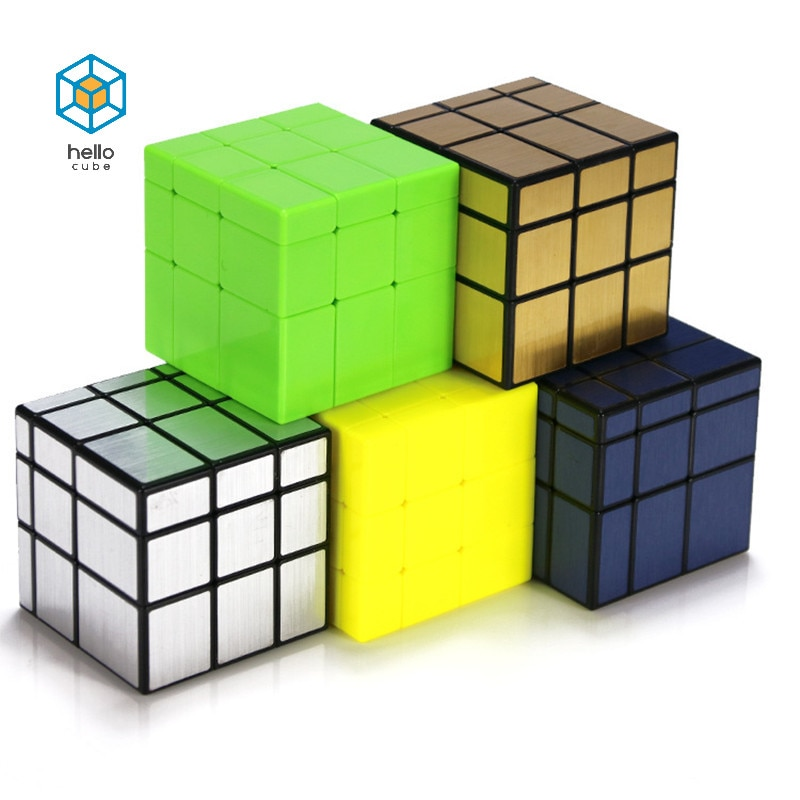 QiYi Color Mirror 3x3x3 Magic Cube Speed puzzle games 3x3 Professional Neo Cube toys for children Cast coated cubo magico qiyi jelly color fun magic cube 3x3 stickerless speed cube puzzle finger toy antistress education toys for children cubo magico