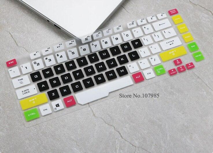 Funda para teclado portátil de 15,6 pulgadas para Asus rog strix G hero iii Scar 3 gl531 G531GT G531GW G531G G531GU GD g531GV 2019