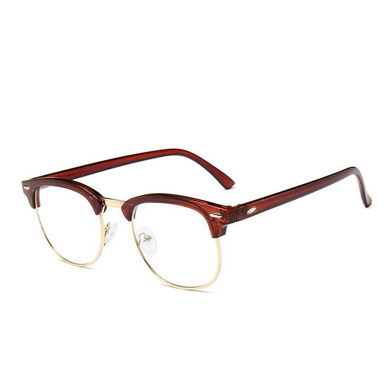Anti Blue Light 2021 Glasses Women Oversized Clear Plain Glasses Computer Blocking Eyeglasses Fashio